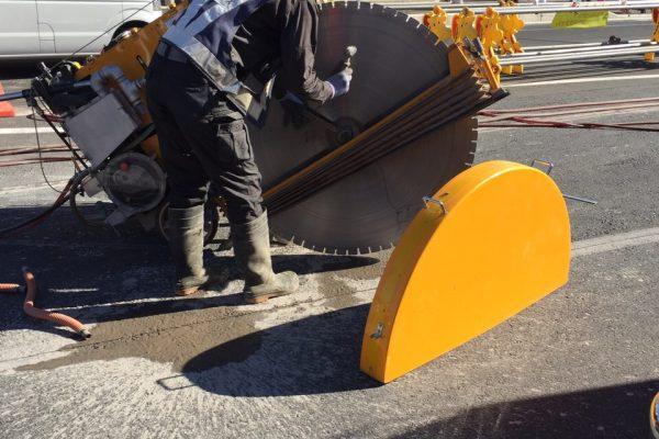ウエット(湿式)カッター 50cm ウォーターリサイクル工法