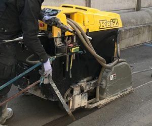 道路カッター工事の紹介イメージです