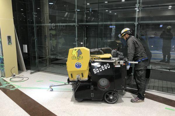 乾式Bau690 店舗内改修工事