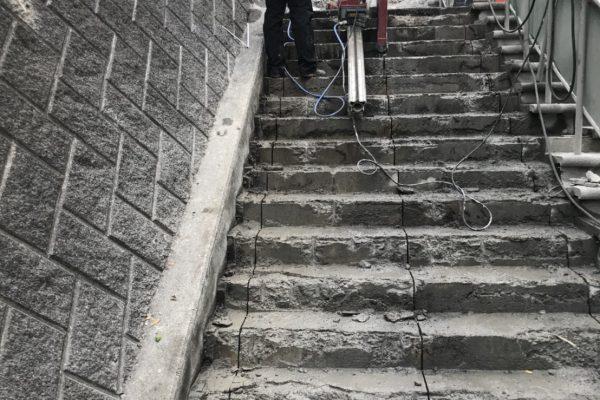 階段ウォールソー その8