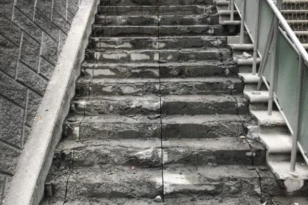 階段ウォールソー 施工完了その2